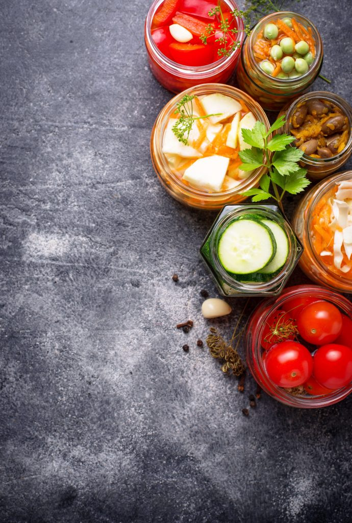 The best fermented foods are made at home.